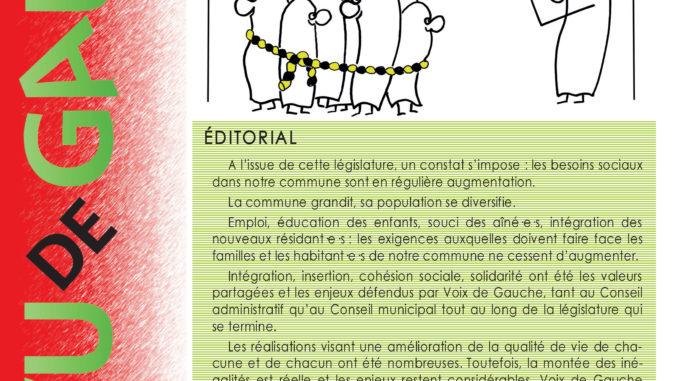 Journal Vu de Gauche n°66 - Confignon